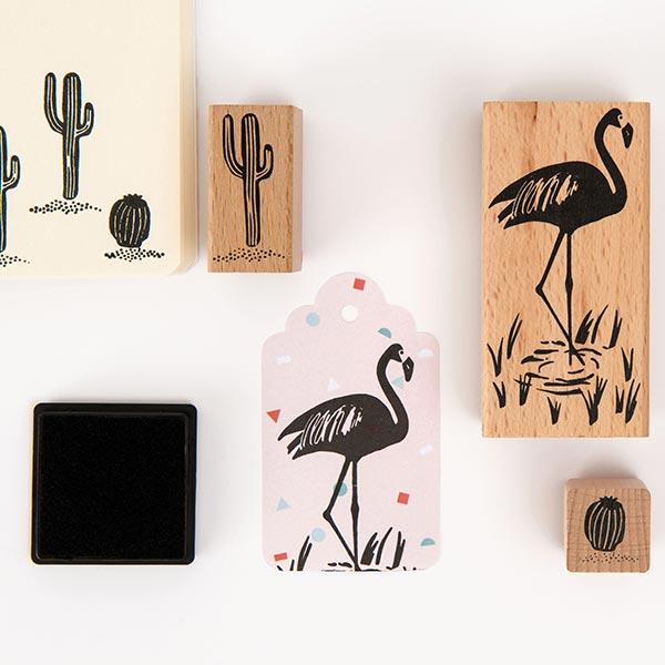 Set de tampons Tropical Spring Flamant Rico Design