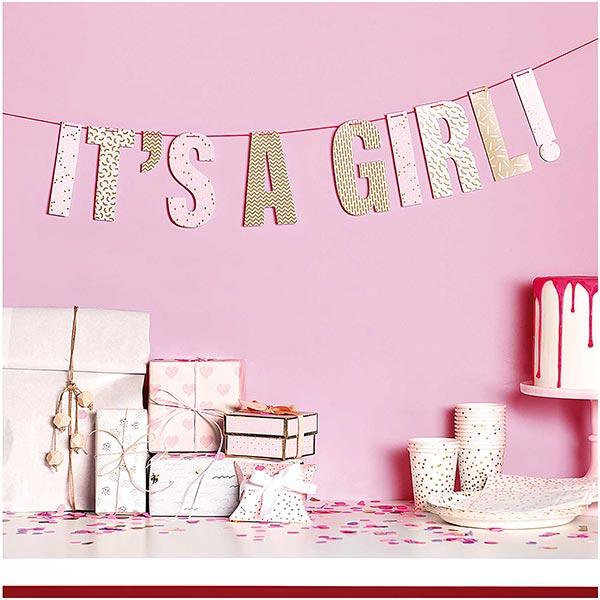 Girlande it's a girl| Rico Design