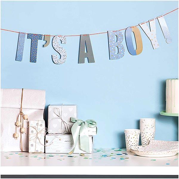 Girlande It's a boy| Rico Design