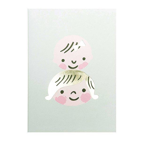 DIY Card Hello Baby Kindergesichter | Rico Design