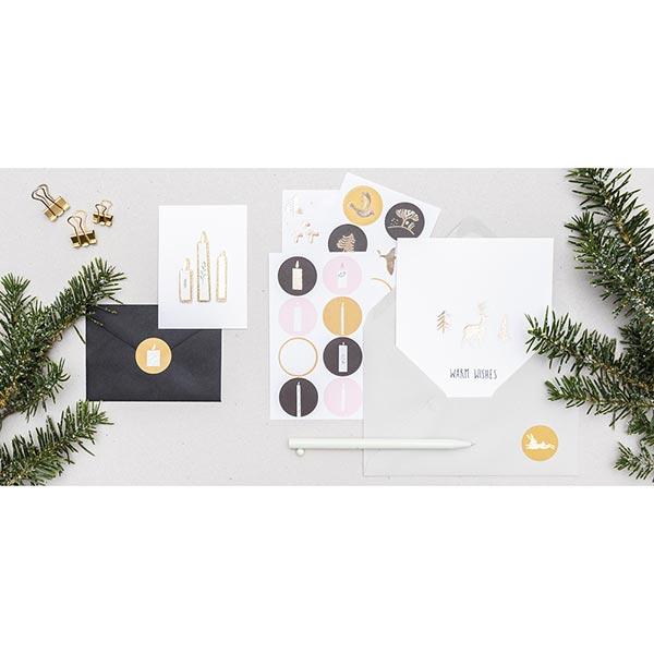 Sticker Nostalgic Christmas | Rico Design – noir