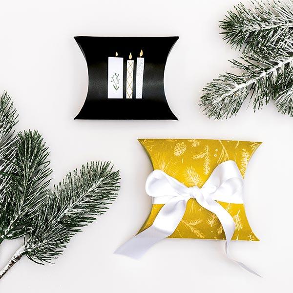 Boites cadeau Nostalgic Christmas | Rico Design – moutarde