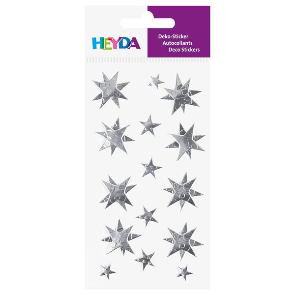 Sticker Mélange d'étoiles – argent