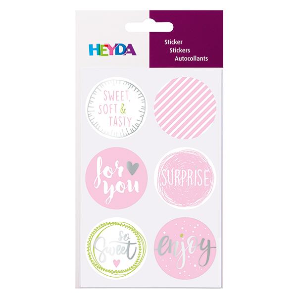 Sticker Sweet Set – rose