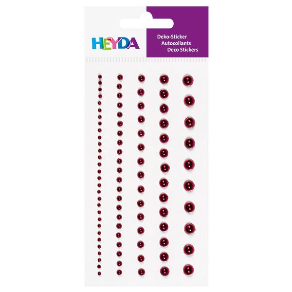 Sticker perles – rouge