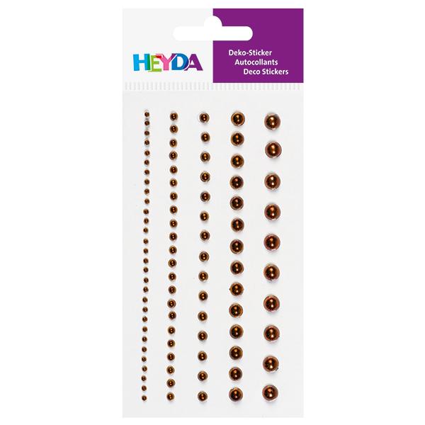 Sticker perles – cuivre