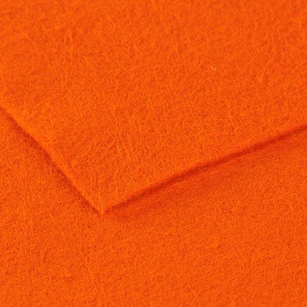 Filzplatte 1mm, 20 x 30 cm – rotorange