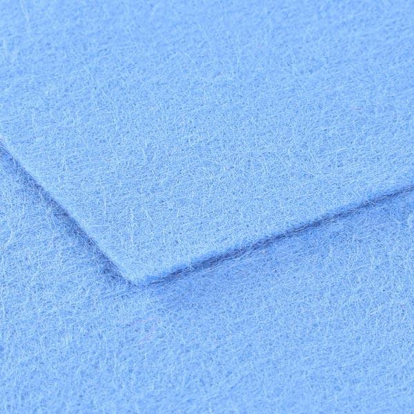 Plaque de feutre 1mm, 20 x 30 cm – bleu clair
