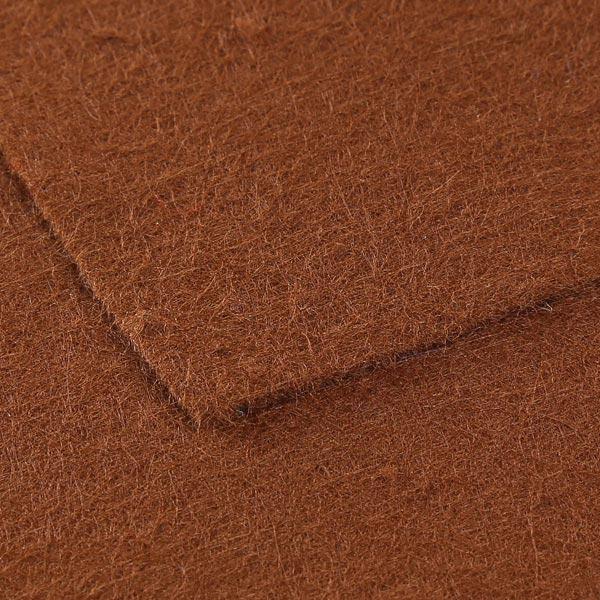Plaque de feutre 1mm, 20 x 30 cm – marron