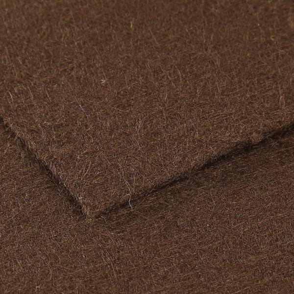 Filzplatte 1mm, 20 x 30 cm – dunkelbraun
