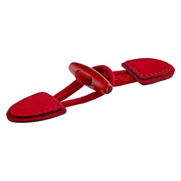 Dufflecoatverschluss [ 95 mm ] – rot