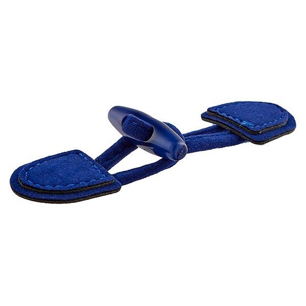Dufflecoatverschluss [ 95 mm ] – königsblau