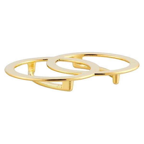 Metallschließe [ 35 mm ] – gold