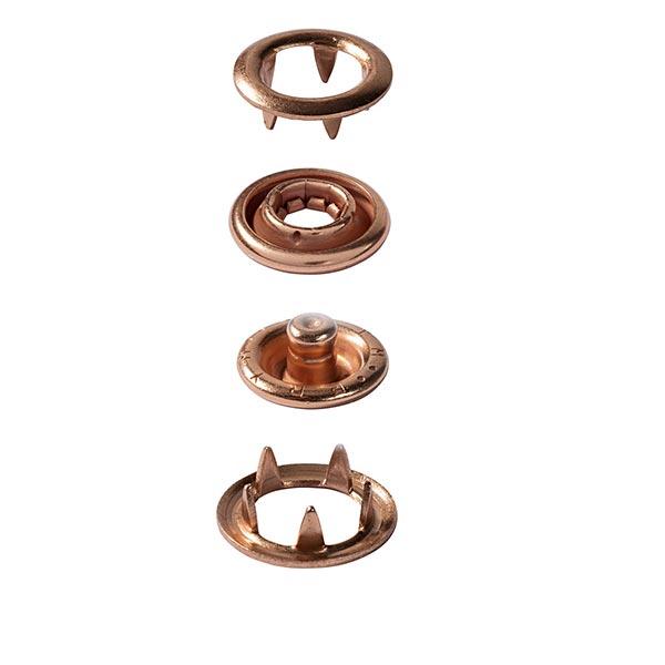 Boutons pression sans couture Jersey [Ø 10 mm] - cuivre| Prym