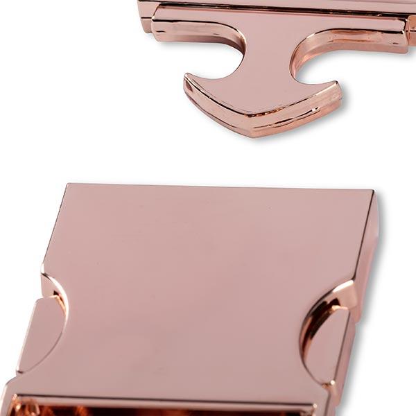 Gürtelschnalle [30 mm] - roségold   Prym