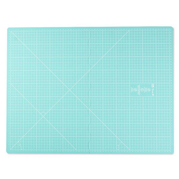Tapis de coupe, pliable [45 x 60 cm] - bleu aqua| Prym Love
