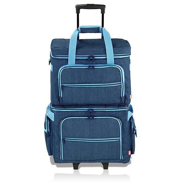 Trolley pour machine à coudre   PRYM - jeans / turquoise