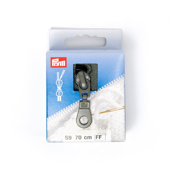 70 cm, Zweiwege Strickreißverschluss | Prym (002)