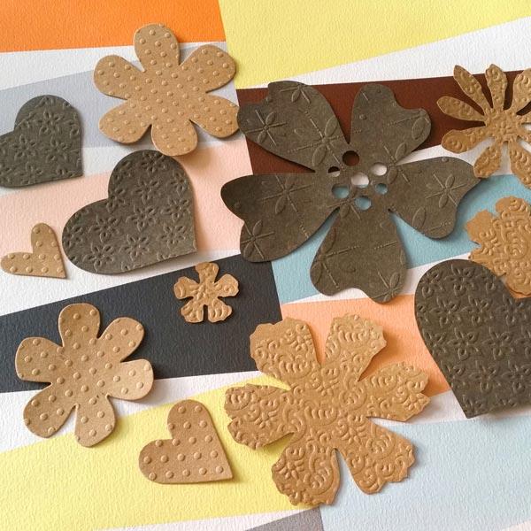SnapPap Assortiment de papier imitation cuir,10xA4