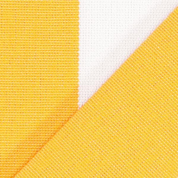 Tissu d'extérieur Stores Rayures Toldo – blanc/jaune