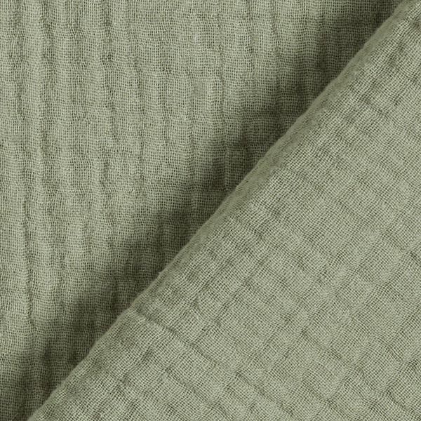 Mousseline coton triple épaisseur – roseau