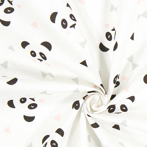 Cretonne Maony 1 – blanc/rose