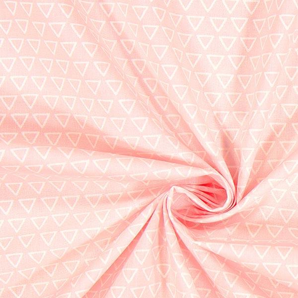 Cretonne Triangles Nasua 1 – rose clair