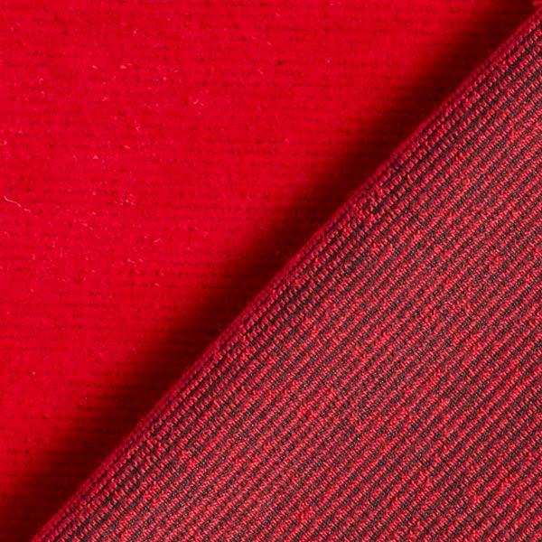 Velours à côtes fines jersey – rouge
