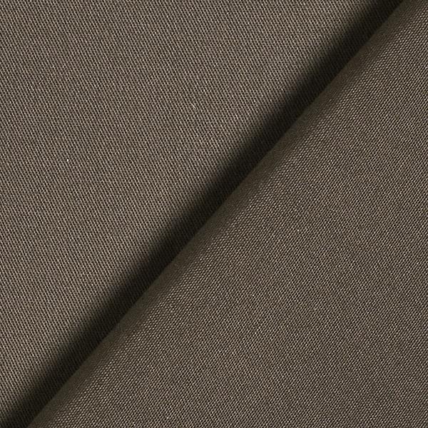 Stretch pour pantalon Coton Uni – marron noir