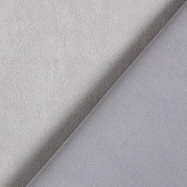 Scuba Daim stretch Imitation daim – gris clair