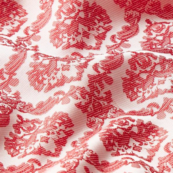 Jacquard léger Motif baroque – rouge
