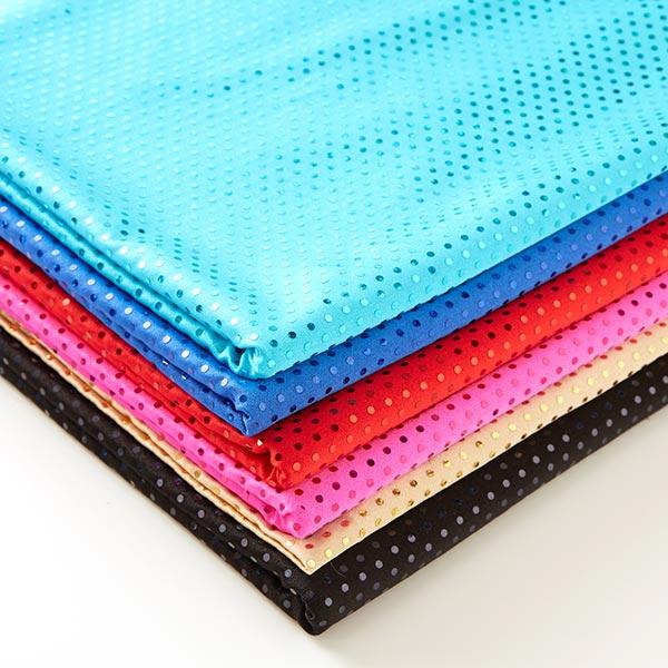 Tissu à paillettes Lycra Hologramme – turquoise