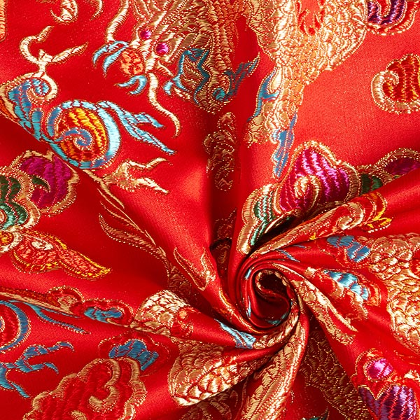 Jacquard Dragon – rouge