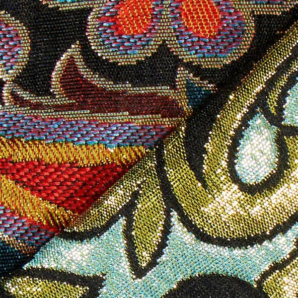 Jacquard cachemire multicolore
