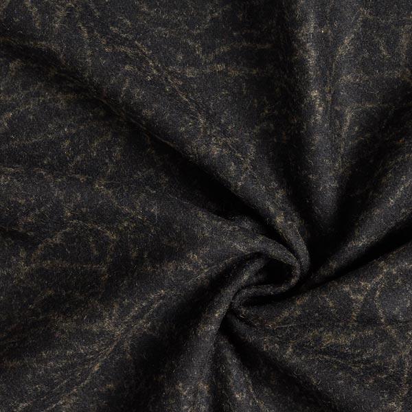 Tissu de manteau Jacquard Aspect marbre