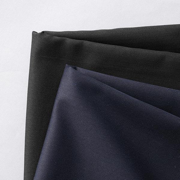 Tissu pour chemise et chemisier Chevrons – bleu marine