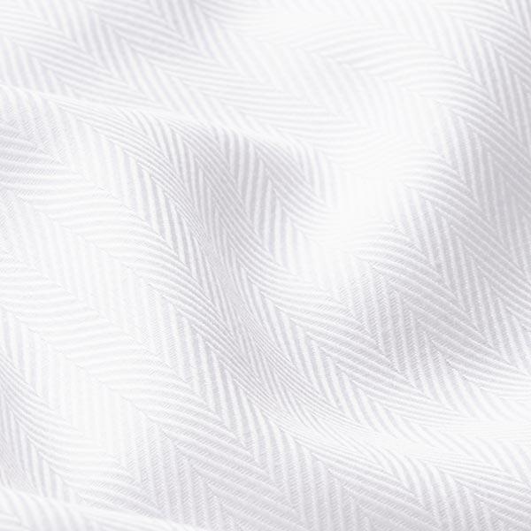 Tissu pour chemise Chevrons – blanc