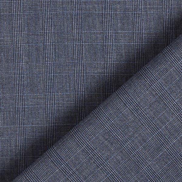 Tissu pour chemise Prince de Galles – bleu jean