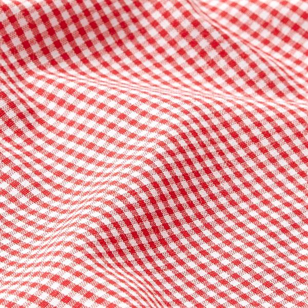 Tissu pour chemise Carreaux Vichy – rouge