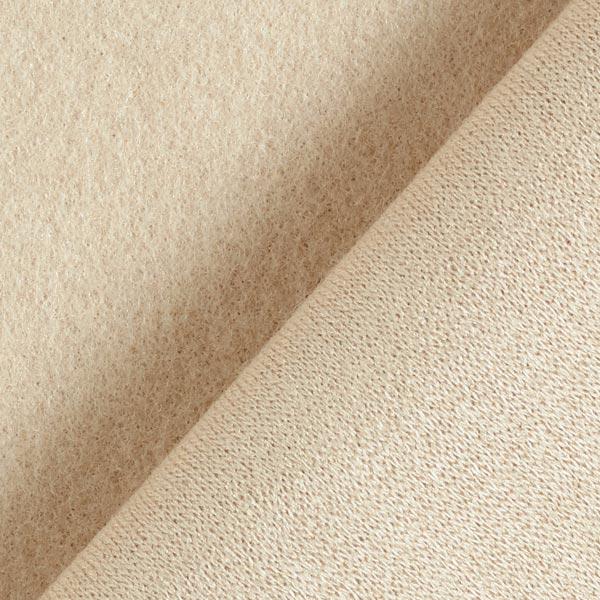 Tricot manteau Mélange de laine Feutre douillet – beige clair