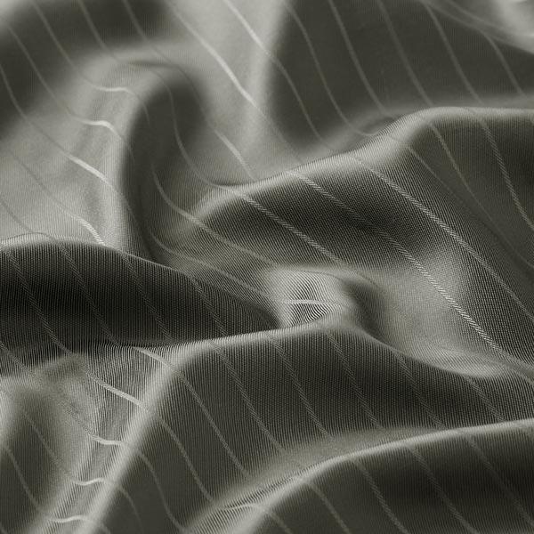 Tissu de doublure Mélange viscose Rayures verticales – olive foncé