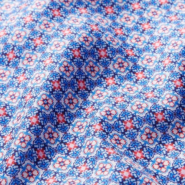 Tissu de doublure Motif Marrakech – bleu