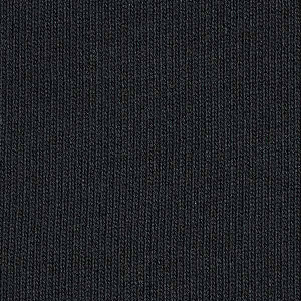 Tricot pur coton moyen – noir