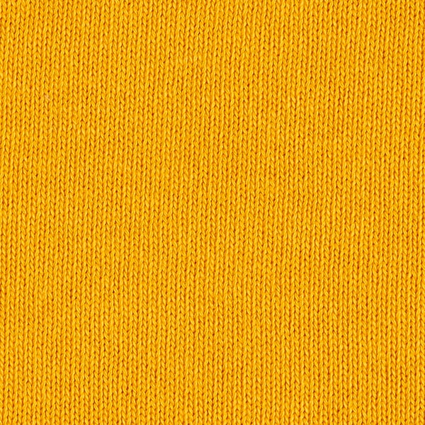 Tricot pur coton moyen – curry
