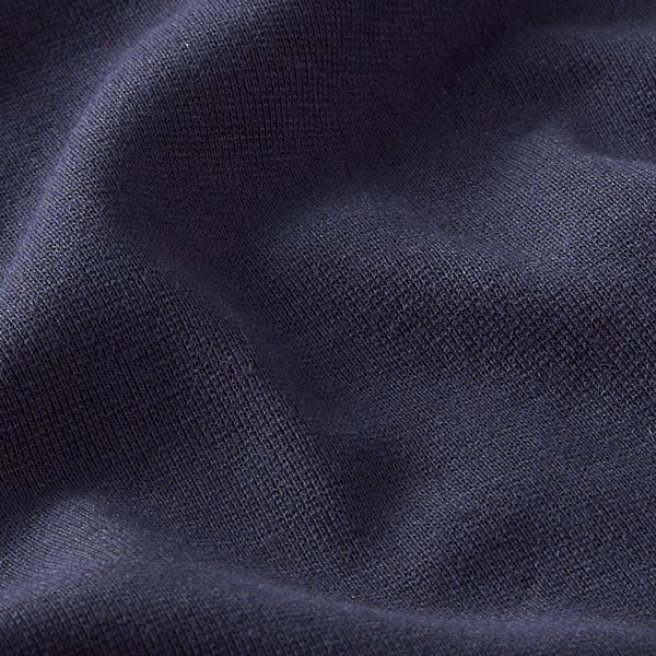 Bündchen Melange Dunkel – marineblau