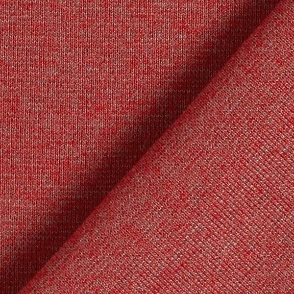 Bord-côtes chiné sombre – rouge rouille