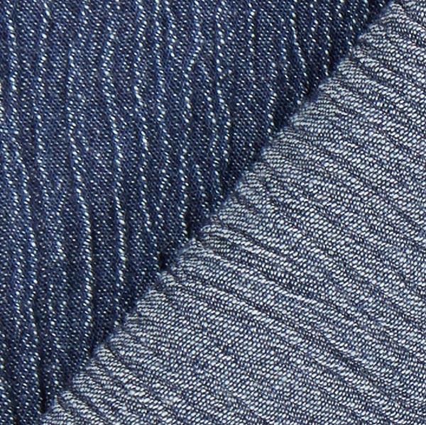 Tissu jeans Froissé – bleu jean