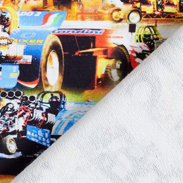 French Terry sweat d'été Voiture Formule 1