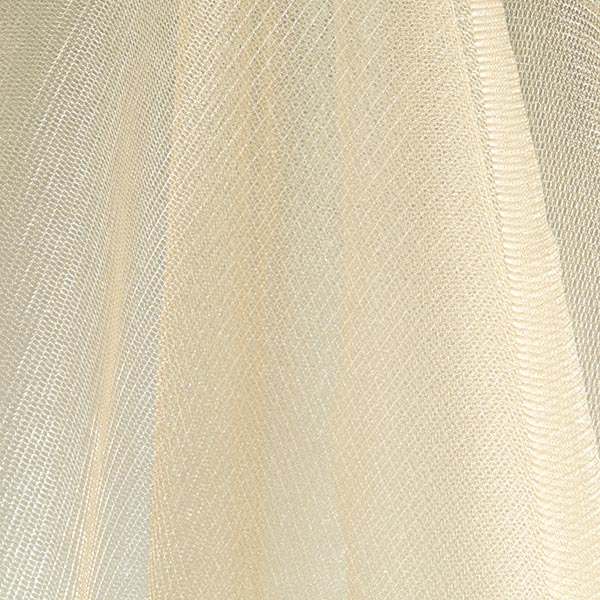 Tulle scintillant – champagne