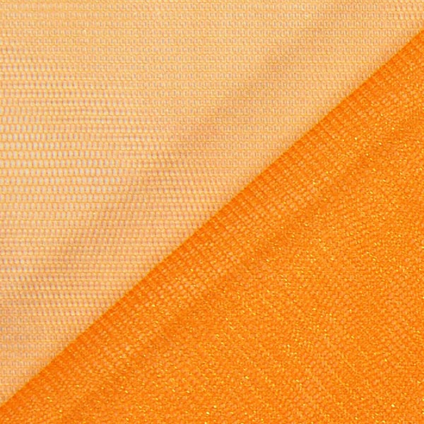 Tulle scintillant – orange